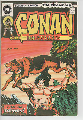 CONAN #36 french comic français EDITIONS HERITAGE
