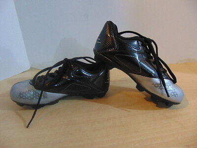 Soccer Shoes Cleats Childrens Size 12 Champion Black Grey