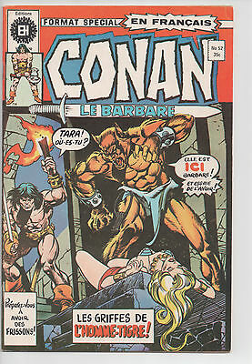 CONAN #52 french comic français EDITIONS HERITAGE