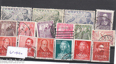 Spain España Canceled Postage Stamps used Stamps Los V 111