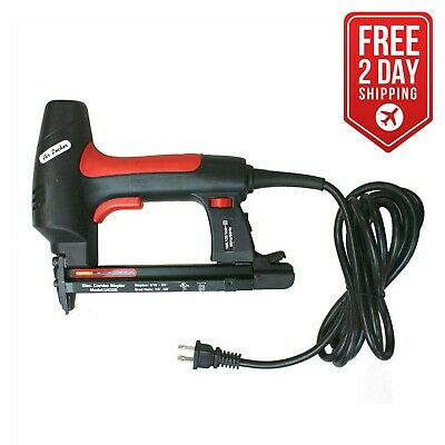 "Electric 22 Gauge 3/8"" Crown Upholstery Stapler / 18 Gauge Brad Nailer - U630E-R"
