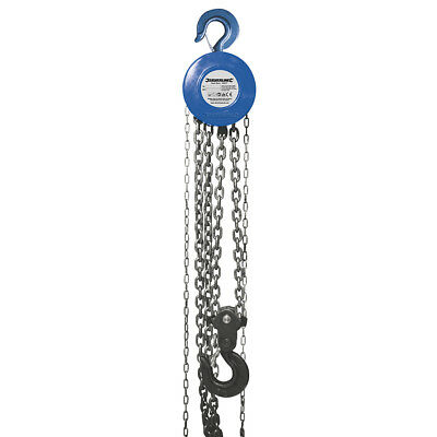 Silverline Tools - Chain Block - 5000kg / 3m Lift Height