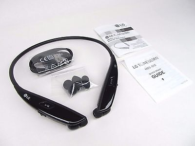 Genuine Original LG Tone Ultra HBS-810 Bluetooth Wireless Stereo Headset Black