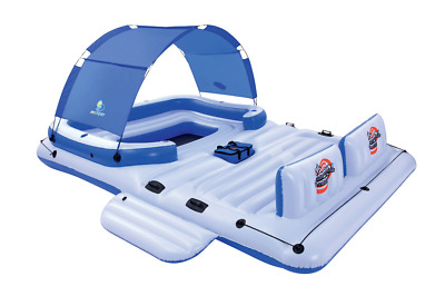 Bestway Cooler Z Tropical Breeze 6-Person Floating Island Raft Tube