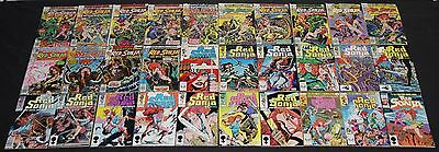 Vintage Bronze to Copper Age RED SONJA 30pc Mid-High Grade Comic Lot Vol 1 2 3 4