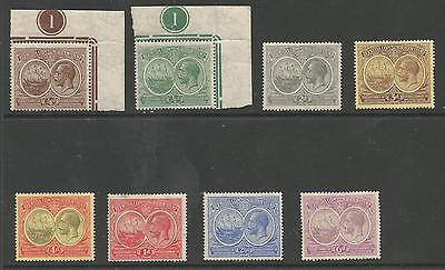 Bermuda 1920 Fine Mint Selection The Farthing & Halfpenny Are Mnh