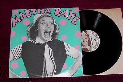 MARTHA RAYE NM Legends 2-LPs Songs from her Hollywood Films & TV gatefold