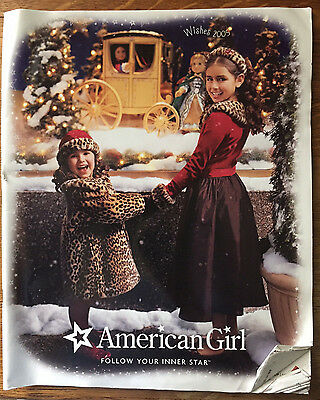 American Girl Catalog 2005 Wishes Special Edition Elizabeth Felicity Samantha