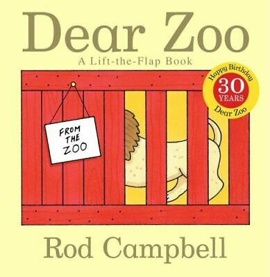 NEW Dear Zoo  By Rod Campbell Board Book Free Shipping