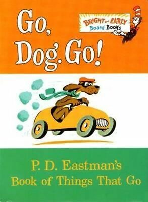 NEW Go, Dog. Go! By P. D. Eastman Board Book Free Shipping