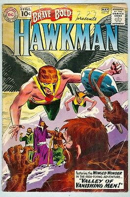 Brave and the Bold #35 April 1961 G Hawkman