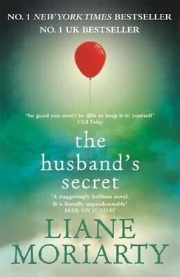 NEW The Husband's Secret By Liane Moriarty Paperback Free Shipping