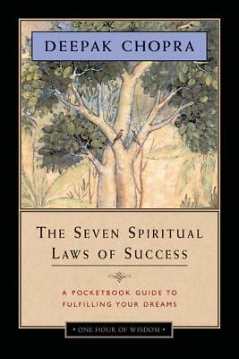 NEW The Seven Spiritual Laws of Success By Deepak Chopra Paperback Free Shipping