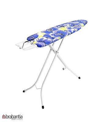 Brabantia Ironing Board Steam Iron Rest Ivory Purple Anemone Design Size A New