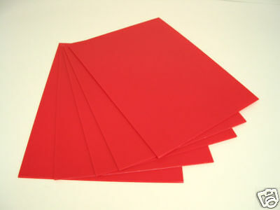 """18"""" x 24"""" RED corrugated plastic 4mm yard bandit road side sign blank 25/CASE"""