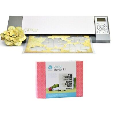 New Silhouette Cameo Electronic Cutting Tool with Vinyl Starter Kit