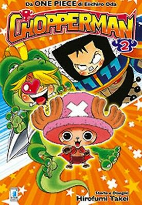 manga -  one piece  CHOPPERMAN N. 2 - nuovo italiano - star comics