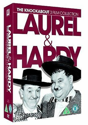 Laurel & Hardy: The Knockabout 3 Film Collection (DVD) (1941) 3 DVD Box Set