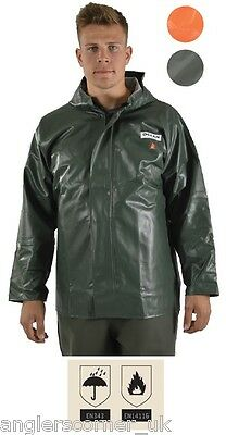 Ocean Off Shore Hurricane / Flame Resistant Jacket / Work Wear / Fishing / 8-20C