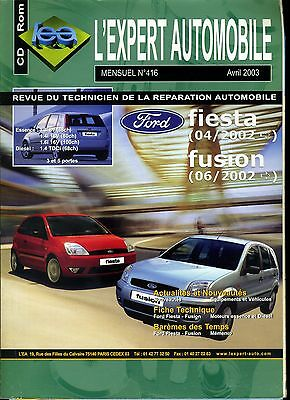 (114A) Revue Technique Expert Automobile Ford Fiesta Fusion