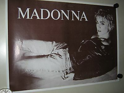 Madonna / Vintage Canadian Import Poster / Horizontal / Exc. New cond.- 22 x 30""