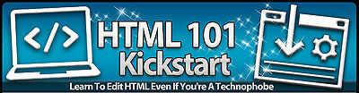 Learn the Basics of HTML Codes- 9 Videos on 1 CD