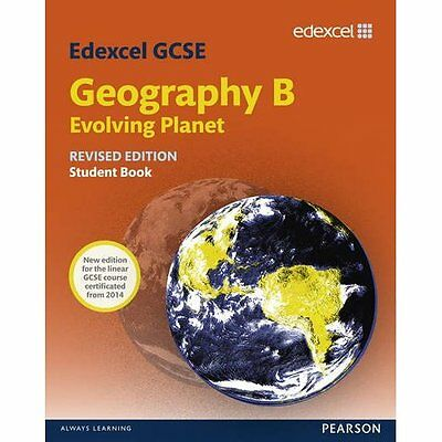 Edexcel GCSE Geography B: Evolving Planet, Student Book - Paperback NEW Nigel Ya