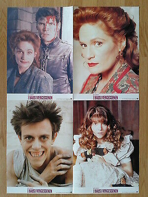 Wes Craven THE PEOPLE UNDER THE STAIRS 4  German jumbo lobby cards 12x18 inch