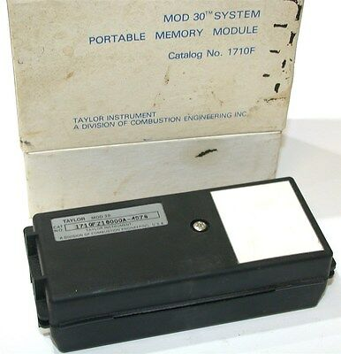 New Taylor Mod 30 System Portable Memory Module 1710F