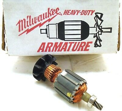 Milwaukee OEM Armature for 0375-1 and 0380-1 Right Angle Drill Part # 16-10-0330