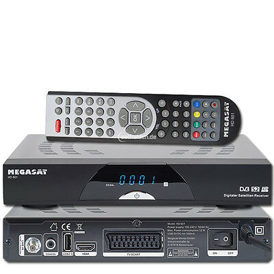 Megasat HD 601 HDTV Ricevitore Satellitare Digitale Full HD 1080p USB Unicable