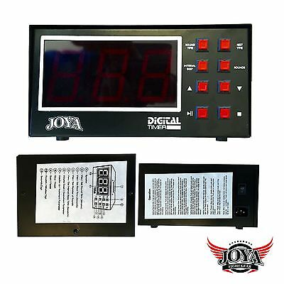 "Joya Digital Timer. Interval Timer. Kampfsport. Fitness. 3"" Display.Gymequipment"