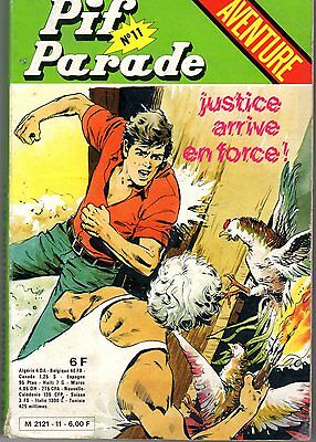 Pif Parade Aventure 11 Justice Arrive En Force  Editions Vaillant 1980