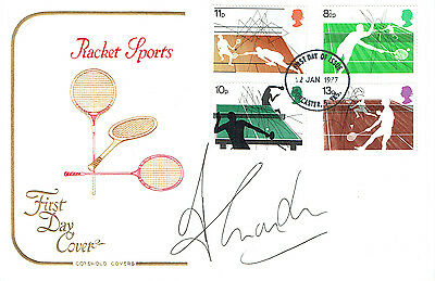 Tim HENMAN Signed Autograph First Day Cover Racket Sports FDC COA AFTAL