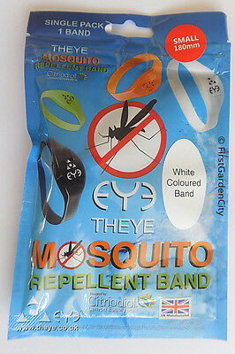 Theye Eye Small Size White Mosquito Band with Free Post and Packing