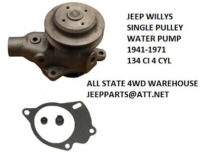 KAISER  AMC JEEP CJ5 CJ6 BUICK 225 V6 WATER PUMP 991996 BRAND NEW USA MADE!