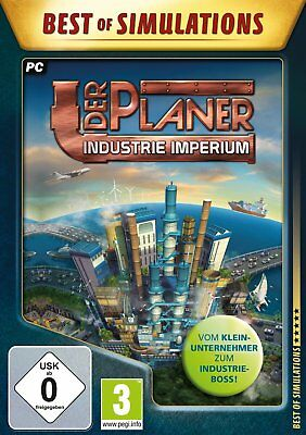 The Planner - Industrie-Imperium (Best of Simulations) Pc New + Ovp