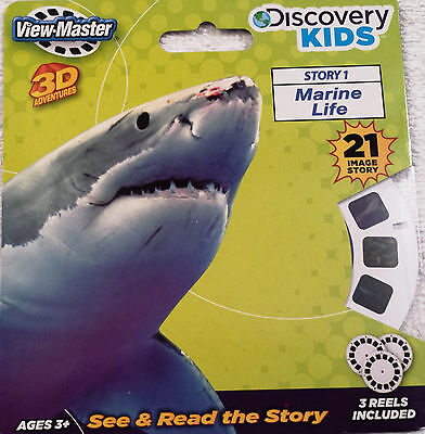 Marine Life VIEW-MASTER VIEWMASTER 3 Reel Set 21 images Discovery KIDS NEW 2114