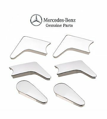 For Mercedes Benz R107 350SL 450SL 560SL Full Set of Seat Hinge Covers Genuine