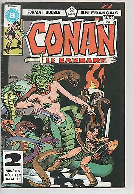 CONAN #119/120 french comic français EDITIONS HERITAGE