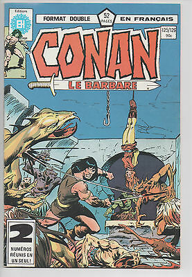 CONAN #125/126 french comic français EDITIONS HERITAGE
