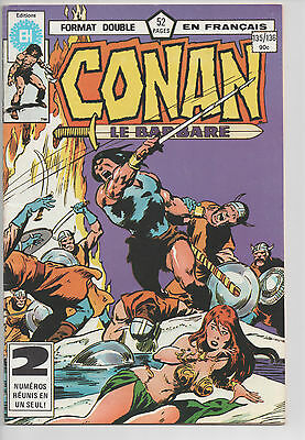 CONAN #135/136 french comic français EDITIONS HERITAGE