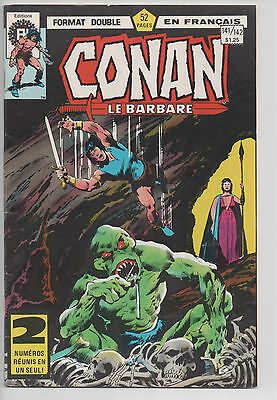 CONAN #141/142 french comic français EDITIONS HERITAGE