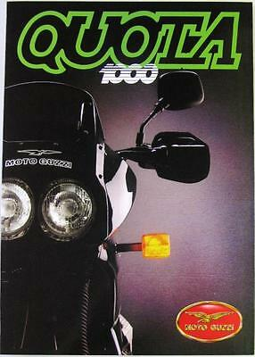 MOTO-GUZZI QUOTA 1000 - Motorcycle Sales Brochure - Jun 1992