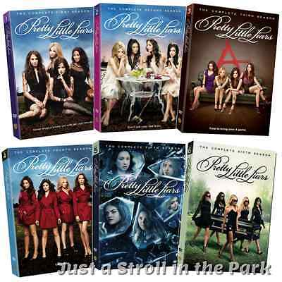 Pretty Little Liars TV Series Complete Seasons 1 2 3 4 5 6 Box / DVD Set(s) NEW!