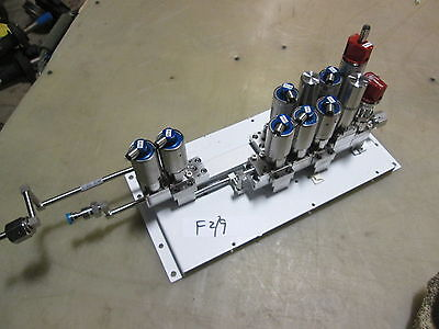 Used 9 Ham-Let Diaphram Valves & 2 Line Filters, IN-Line, Make Offer!!!!