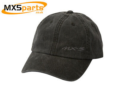 Official Mazda Merchandise Baseball Cap In Black With Small MX5 Logo