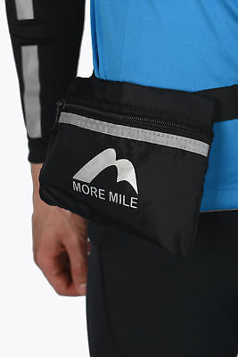 More Mile Adjustable Reflective Trail Running Cycling Sports Waist Pouch Bum Bag