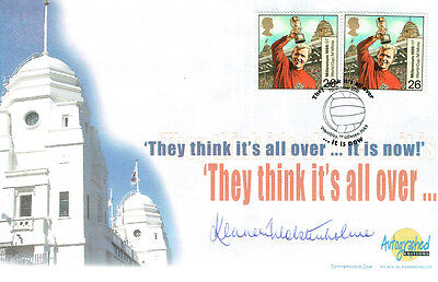 Kenneth WOLSTENHOLME Signed Autograph First Day 1966 England FDC COA AFTAL