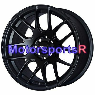 XXR 530 15x8 +20 Flat Black Wheels Rims Concave 4x100 Stance 02 05 06 Scion xB